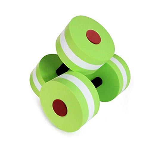 XUEXIU Niños Sólidos Pesas De Pesas Fitness Equipo De Fitness Educación Temprana Escuela Niña Placas Al Aire Libre Placas Entrenamiento Corporal Bodybuilding Gym (Color : Green)