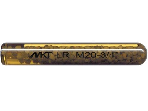 MKT Polyester Liquid ROC 300 Capsule Anchor, 1/2' Diameter x 6-1/4' Length, 3/4' Hole Diameter (Box of 10)