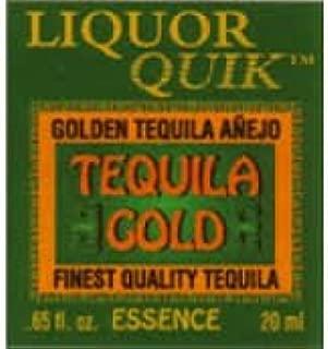 Liquor Quik Quick Tequila Gold Essence