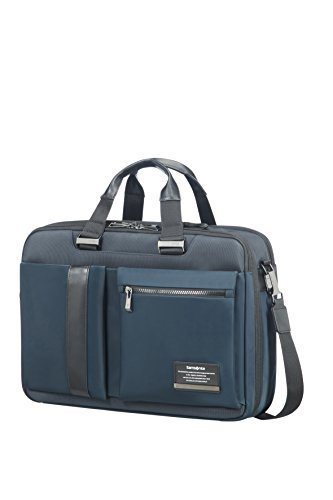 SAMSONITE 3WAY BAG 15.6' EXP (SPACE BLUE) -OPENROAD Bagaglio a mano, 0 cm, Blu