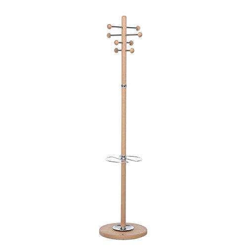 Foppapedretti Sebastian 9900415706-Perchero paragüero, Color, Nogal, Noce, 6.5x61.5x37 cm
