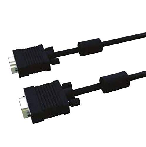 S2CEB CSVGA120N Cable 20M COMPLETO HD15 VGA Moldeado - macho/macho - Negro