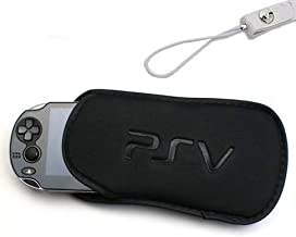 eJiasu PS Vita Soft Black Bag Case & Generic Soft...