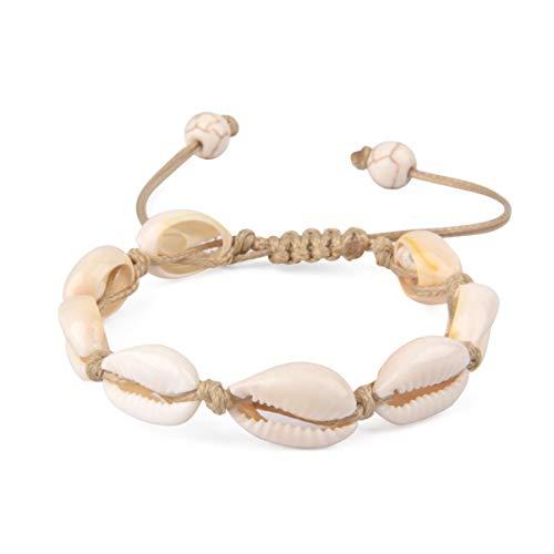 Seashell (Brown Bracelet)