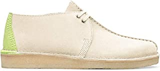 Clarks Men's Desert Trek Shoes, Off White Suede, 10 Medium US (B07V4ND3MM) | Amazon price tracker / tracking, Amazon price history charts, Amazon price watches, Amazon price drop alerts