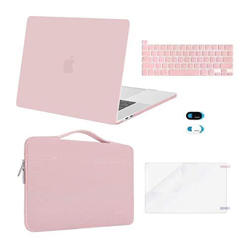 MOSISO - Carcasa rígida de plástico para MacBook Pro de 16 pulgadas con Touch Bar