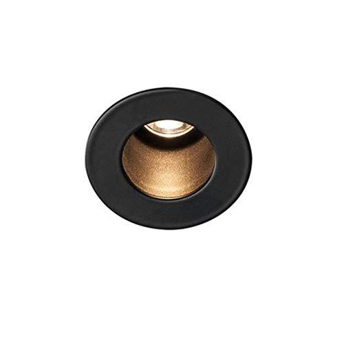 SLV HORN MINI - Foco LED empotrable para techo (3000 K, 1,2 W, 70 lm, color negro)