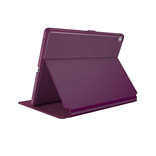 Speck Products Compatible Case for Apple iPad 9.7' (2017/2018, also fits 9.7' iPad Pro/Air 2/Air), Balance FOLIO Case/Stand, Syrah Purple/Magenta Pink