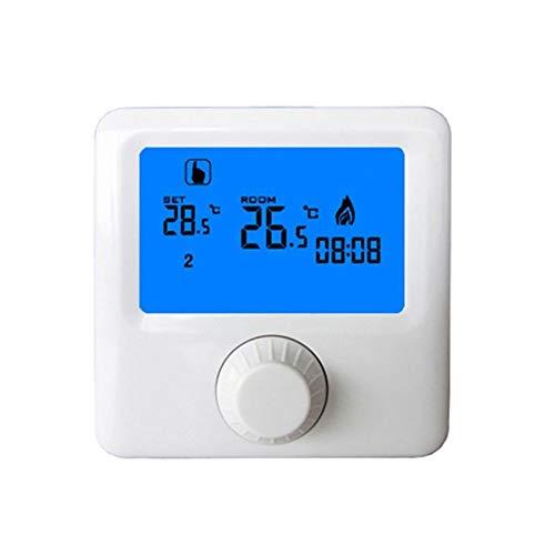 SXCXYG Termostatos Calefaccion Pantalla Wall-Hung Gas Caldera de Gas Termostato Semanal Programable Habitación Calefacción Controlador de Temperatura Digital Termostato Termostato Calefaccion