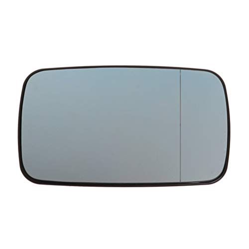 BIlinli Cristal de Espejo retrovisor Azul, Lente calefactable Lateral Izquierda Derecha del copiloto para BMW 3Series E46