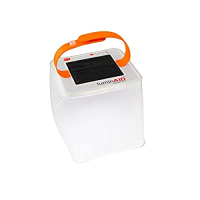 LuminAID PackLite Terra Solar Inflatable Camping and Emergency Lantern
