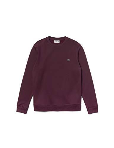 Lacoste Herren Sweatshirt SH8577,Männer Pullover,sportlicher Sweater,Regular Fit,Eggplant(FY5),XX-Large (7)