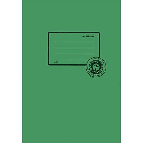 Heftschoner Papier A5 dunkelgrün
