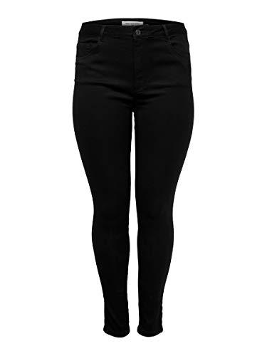 ONLY Carmakoma Female Skinny Fit Jeans Curvy Caraugusta HW 4432Black