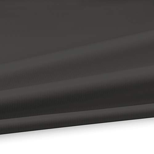 Serge Ferrari Soltis Proof W96 waterdicht PVC zeildoek voor zonwering 620 g/m2 breedte 267 cm kleur beige 1103 geschikt voor pergola en gordijnen 267 cm (B) antraciet