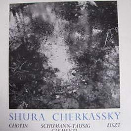 Frdric Chopin , Robert Schumann - Carl Tausig , Muzio Clementi , Franz Liszt , Shura Cherkassky - Piano Recital - World Record Club - T247, World Record Club - T.247