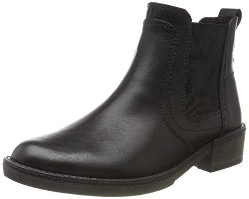 Tamaris Damen 1-1-25012-23 Chelsea Boots, Schwarz (Black Uni 7), 39 EU