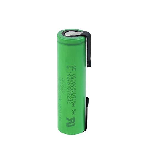 josiedf 3.6v 2600mah 18650 Batería De Iones De Litio De Litio, Recargable para El Control Remoto del MicróFono De La Linterna del Banco De Energía 1PCS