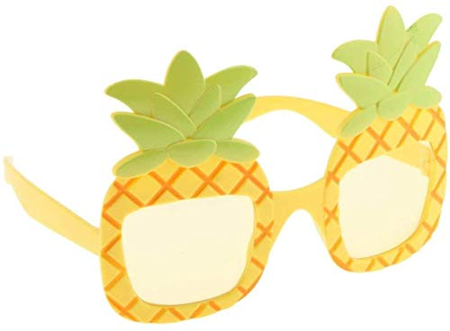 SLL Spielzeug Spielzeug-Neuheit Ananas Sonnenbrille Party Brille Tropical Hawaiian Luau-Sommer-Strand-Party Kostüm Zubehör