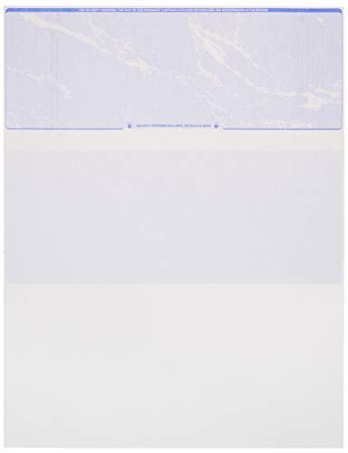 Blank Checks Paper stock - Check on Top - Sky...