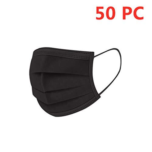MaNMaNing Protección 3 Capas Transpirables con Elástico para Los Oídos Pack 50 unidades 20200721-MANING-NB50