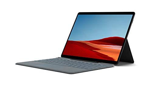 """Microsoft Surface Pro X Ordinateur Portable (Windows 10, écran tactile 13"""", processeur Microsoft SQ1, 8 Go RAM, 128 Go SSD, 4G+, Noir) PC Hybride, ultrafin et toujours connecté"""