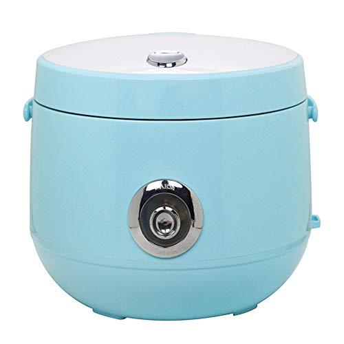 Cuiseur à riz,2L autocuiseurs électriques multifonctionnels portables pour la maison,Pot intérieur antiadhésif,Fonction de maintien au chaud,Petits appareils de dortoir faciles à utiliser,Bleu
