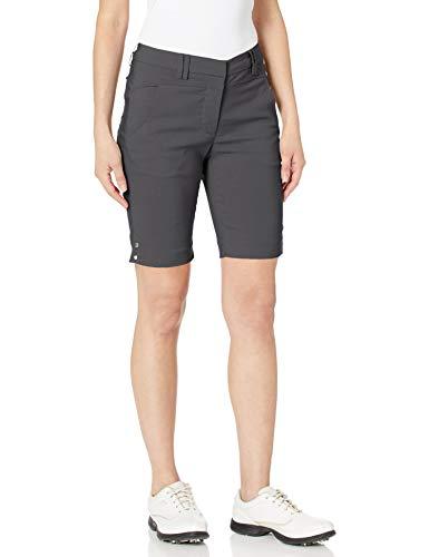 Bette & Court Damen Womens Flex Smooth Fit Shorts, Slate, 10