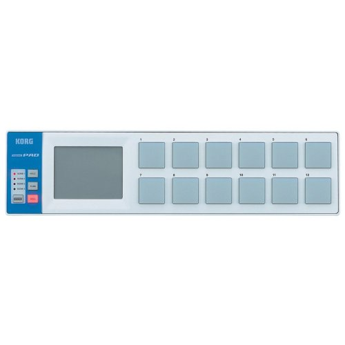 Korg nanoPAD USB Drum Controller, White (japan import)