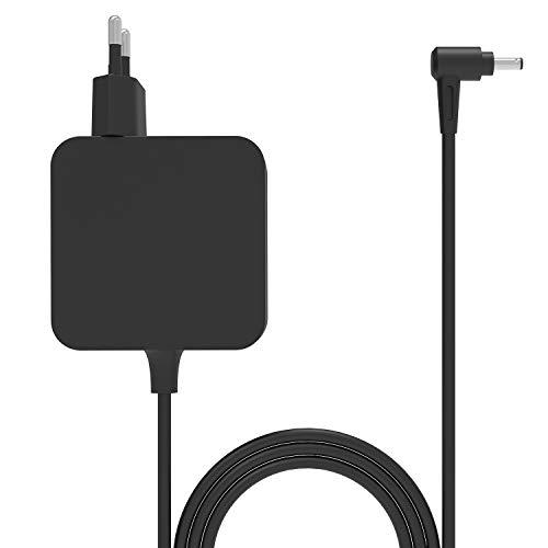 45W Notebook Laptop Adaptador de cargador de CA Cable de alimentación par Asus UX305 UX305FA UX305UA UX305CA UX305L UX410 UX410U UX410UA UX360UA UX360U UX360C UX360 UX303 UX303U UX303UA UX303L UX303LB