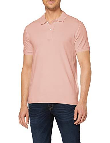 Celio Herren RECEONE1 Polo Hemd, Pink, XL