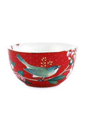 Pip Studio Schale Blushing Birds | rot - 12 cm