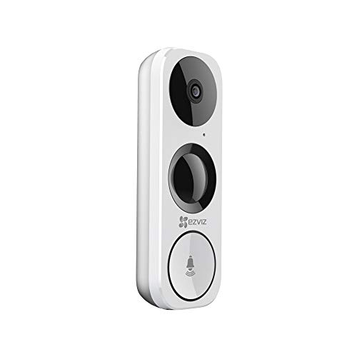 EZVIZ DB1 3MP Day/Night WiFi Doorbell camera met 2-weg audio en PIR-sensor, CS-DB1-A0-1B3WPFR