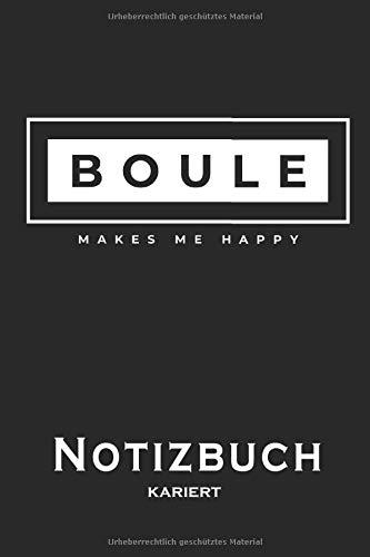 Notizbuch Boule kariert
