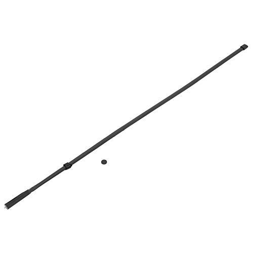 Deansh Antena táctica Plegable, Antena táctica Extensible Plegable para Uso en Exteriores y campamentos, Antena VHF UHF de Doble frecuencia de Cabeza Femenina SMA para walkie-Talkie(72cm)