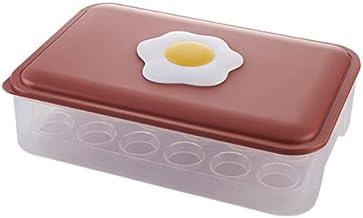 Aidou 24 kratkowe pudełko do przechowywania jajek, kwadratowy pojemnik do przechowywania jajek plastikowa taca na jajka z ...