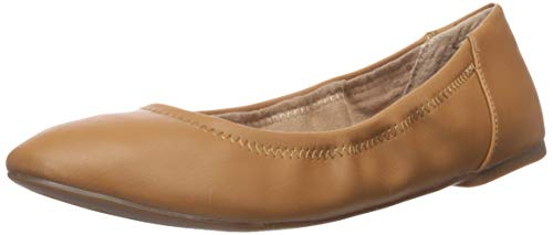 Amazon Essentials Belice Ballet Flat Damen Ballet Flat,Kamelbraun , 35 EU