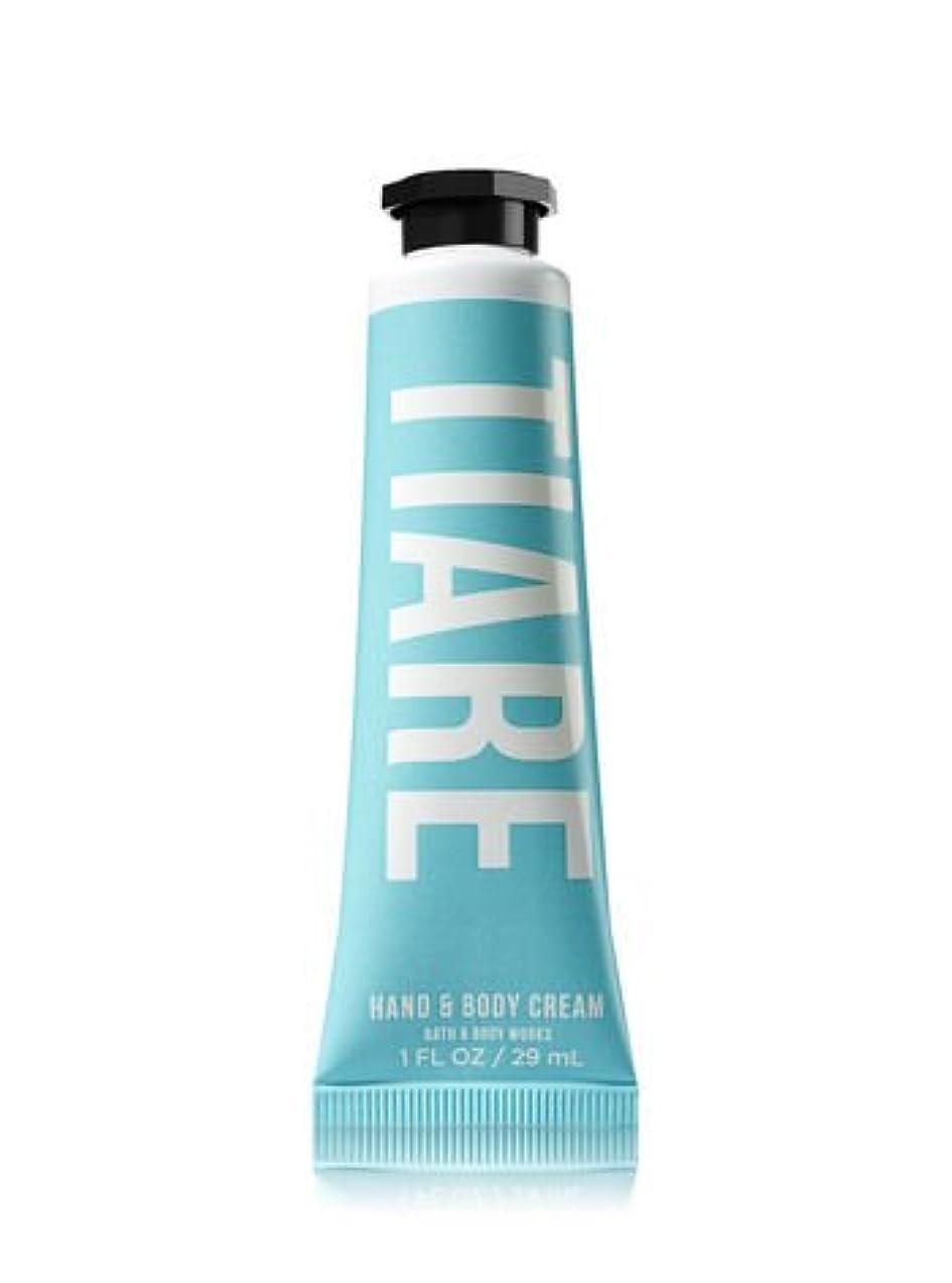 バルコニーお手入れ容疑者【Bath&Body Works/バス&ボディワークス】 シアバター ハンド&ボディクリーム ティアレ Shea Butter Hand & Body Cream Tiare 1 fl oz / 29 mL [並行輸入品]