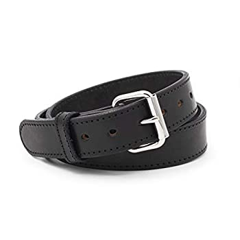 Relentless Tactical The Ultimate Concealed Carry CCW Leather Gun Belt - 14 Ounce 1 1/2 Inch Premium Full Grain Leather Belt - Handmade in The USA! Black Size 42