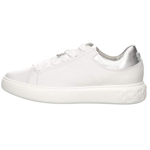 Peter Kaiser Damen Halbschuh/Sneaker Flora weiß/Silber (Weiß) 26517183