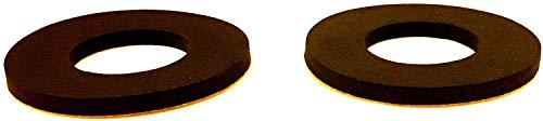 Covey Sport Foam Enkel Donut Pads - (Multi-Pack opties) - Voor Laarzen, Ski/Snowboard Laarzen, Schaatsen en Schoenen (Verkocht In Paars)