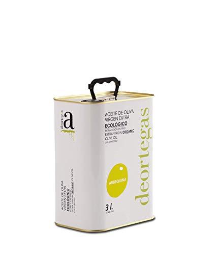 Arbequina Kräftiges Natives Olivenöl Extra - Frühe Ernte - Reinsortig - Olivenöl für Jeden Tag koud gepareld - kein gutes Geld zurück (3 ltr)
