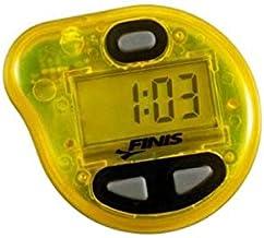 جهاز لحساب سرعة الاداء اثناء السباحة تيمبو تراينر برو، اصفر
