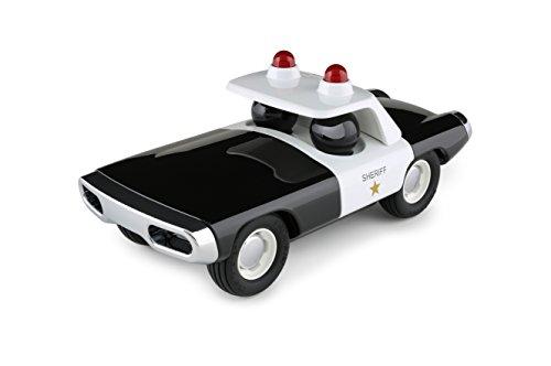 Playforever M101 Heat Moon Black & White Sheriff Auto Spielzeug und Sammlerstück