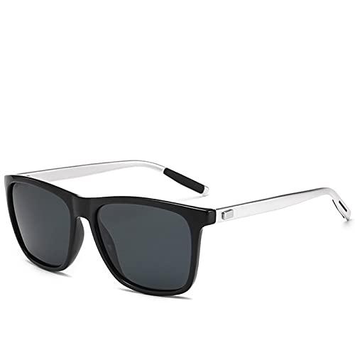 RWEAONT Marca Unisex Retro Aluminio + TR90 Gafas de Sol Lente polarizada Vintage Eyewear Gafas de Sol Hombres/Mujeres (Lenses Color : C3)