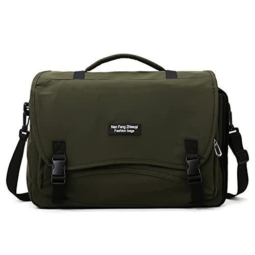 CNBPLS Bolsa De Asas De Deportes, Viajes De Negocios De Corta Distancia Portátil De Gran Capacidad Hombro Messenger Bag Sports Gym Bag,Verde