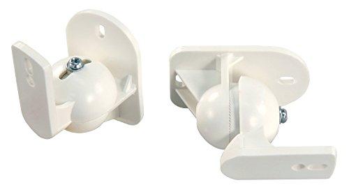 HOLLYWOOD the Starsound Wandhalterung für Lautsprecher, LB-W5W, 5kg belastbar, 20°schwenkbar, weiß, Paar, 2