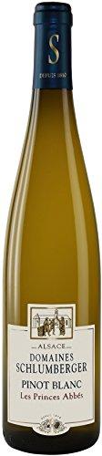 Domaines Schlumberger Pinot Blanc les Princes Abbés 2011 Elsass Wein (1 x 0.75 l)
