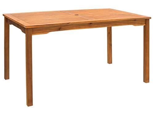 Florabest Gartentisch Garten Möbel Terrasse Tisch Esstisch Holz NEU