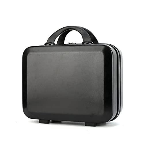 YANGYUE Custodia cosmetica per Mini Bagaglio a Mano da Viaggio Piccola Valigia Portatile per Il Trasporto per Il Trucco